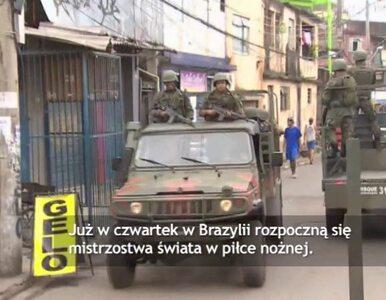 Na dzień przed mundialem - w Rio trwa operacja wojskowa w fawelach