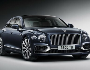 Wydłużyli luksus. Nowy Bentley Flying Spur