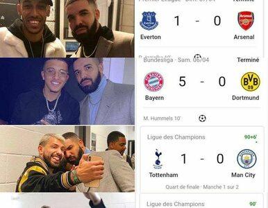 Klątwa Drake'a. Jeden klub piłkarski już zakazał selfie z raperem