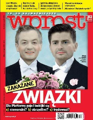 Okładka tygodnika Wprost nr 31/2012 (1537)