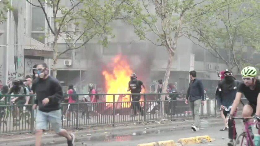 Zamieszki w Chile