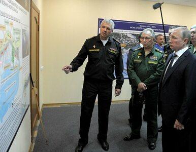 Ukraina wydała list gończy za dowódcą Floty Czarnomorskiej
