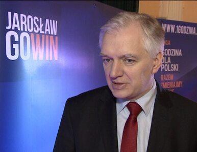 Gowin: Tusk przedstawił mój program