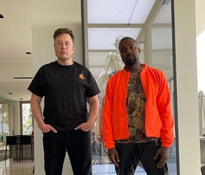 Kanye West i Elon Musk