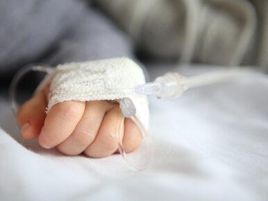 Do szpitala we Wrocławiu trafiło 14-miesięczne dziecko. Objawy wskazują...