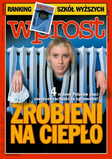 Okładka tygodnika Wprost nr 20/2002 (1016)
