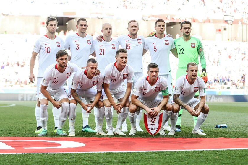 Reprezentacja Polski przed meczem z Japonią