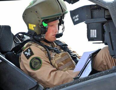 Brytyjski książę Harry został pilotem