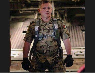 Odwet króla Jordanii. Osobiście bombarduje dżihadystów