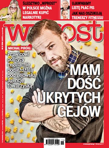 Okładka tygodnika Wprost nr 15/2014 (1623)