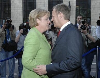 """Tusk odbierze nagrodę Karola Wielkiego z rąk Merkel za """"niebanalną..."""