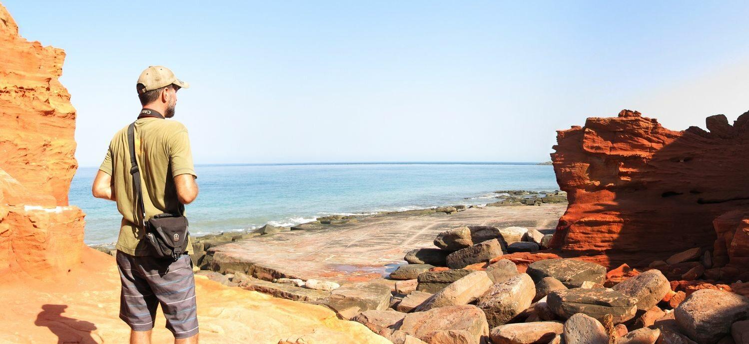 Widok na Półwysep Dampier