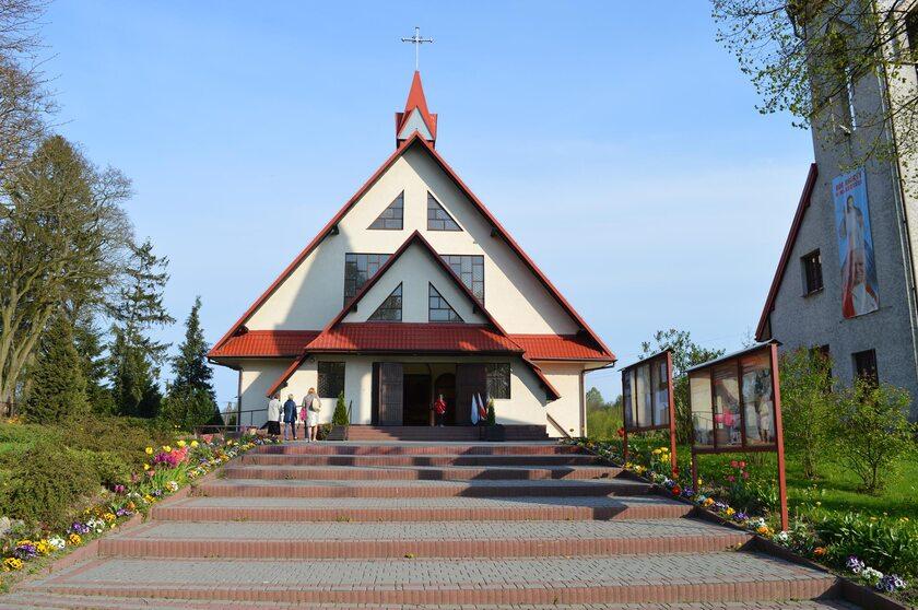 Kościół w Pliszczynie
