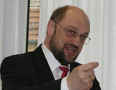 Schulz już jedną nogą przewodniczącym PE
