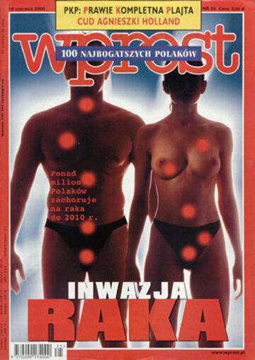 Okładka tygodnika Wprost nr 25/2000 (916)