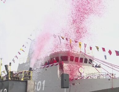 Zwodowano pierwszy od lat polski niszczyciel min