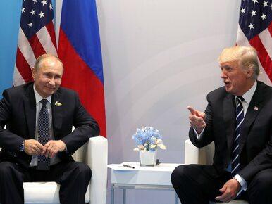 Putin chwali Trumpa i żartuje z oskarżeń o ingerencję w wybory w USA....