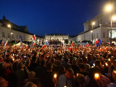 Marcin Dzierżanowski: Dlaczego byłem pod Pałacem Prezydenckim
