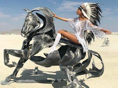 Epickie stroje, instalacje i pojazdy na pustyni w Nevadzie. Burning Man...
