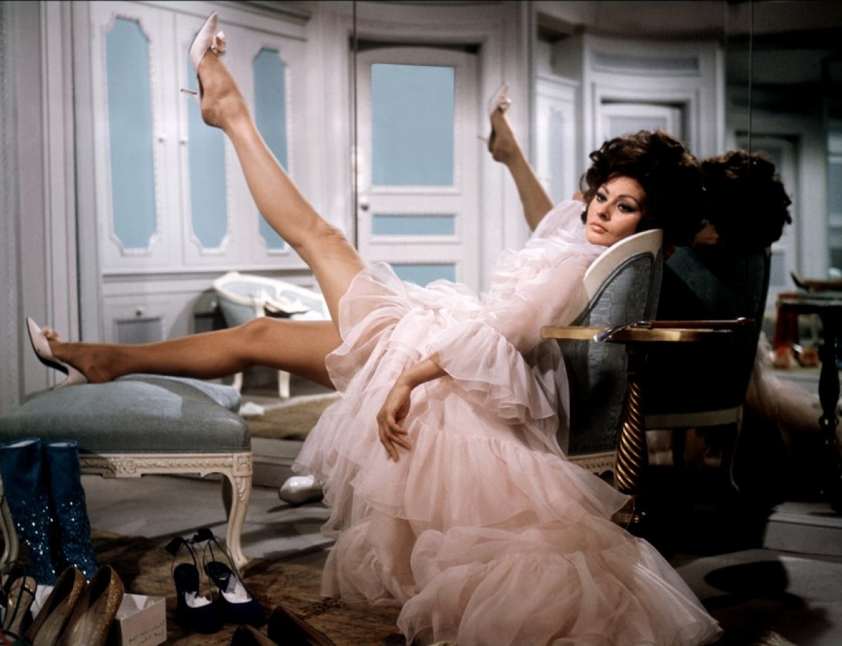 "Sophia Loren w filmie ""Arabeska"" (1966)"