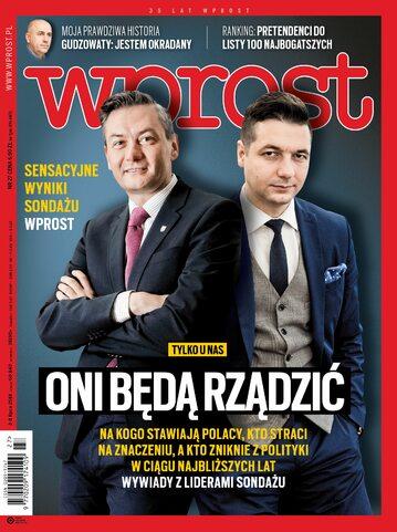 Okładka tygodnika Wprost nr 27/2018 (1842)