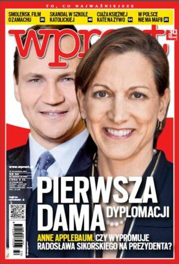 Okładka tygodnika Wprost nr 50/2012 (1556)