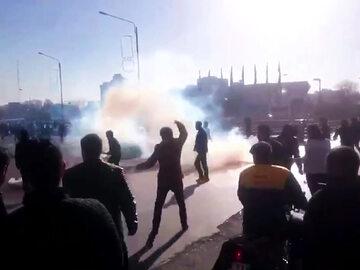 Protesty w antyrządowe w Iranie