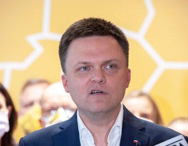Szymon Hołownia przedstawia plany ruchu Polska 2050. Mówi o sześciu...