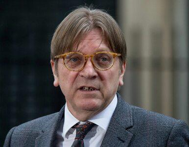 Guy Verhofstadt skrytykował byłego premiera: Obudź się panie Tusk