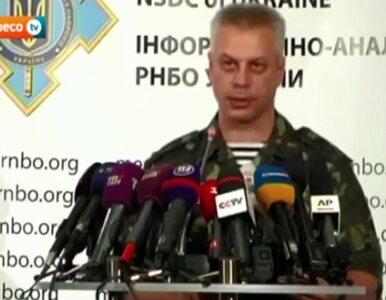Rada Bezpieczeństwa Ukrainy: Separatyści stracili kanał przerzutu broni