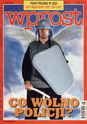 Okładka tygodnika Wprost nr 28/1999 (867)