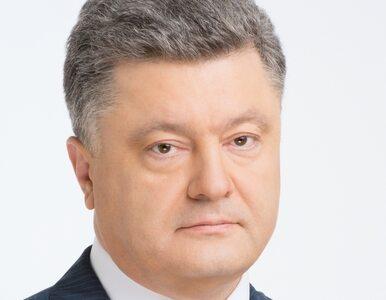 "Poroszenko krytykuje Putina. ""Zaplanowana akcja"""