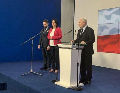 Kaczyński przedstawił nową rzeczniczkę PiS i jej zastępcę. Kim są?