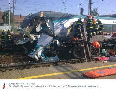 Wypadek czeskiego pendolino. Polski kierowca usłyszał zarzut