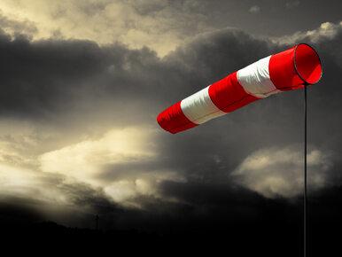 Silny wiatr nawet do 130 km/h. Wydano ostrzeżenia dla kilku regionów