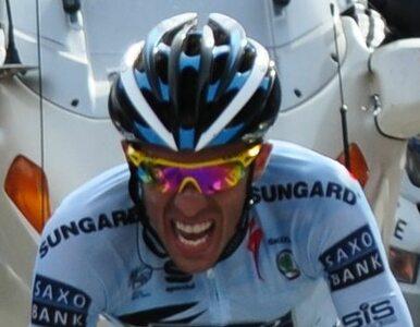 Zawieszony za doping Contador wraca na tor z nowym kontraktem