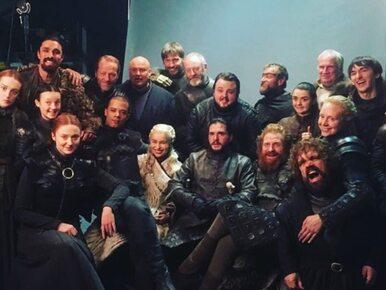 """Obsada """"Gry o tron"""" żegna się z serialem. Aktorzy podzielili się..."""