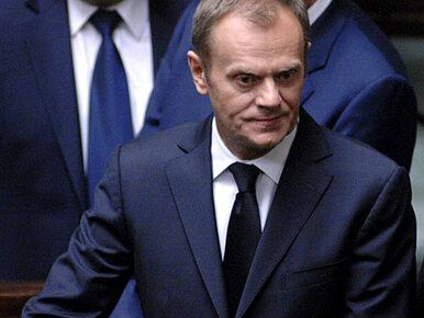 Tusk: Polska przedstawi UE plan unii energetycznej