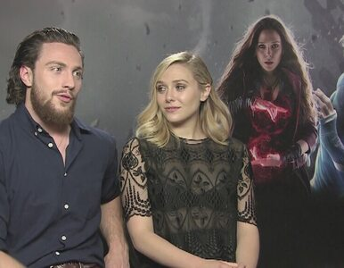 "Aaron Taylor-Johnson i Elizabeth Olsen - nowi bohaterowie sagi ""Avengers"""