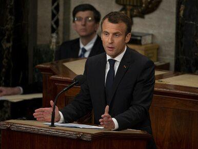 Mocne przemówienie Emmanuela Macrona na Kapitolu. Skrytykował...
