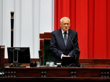 """Poruszające przemówienie marszałka seniora. """"Prowadź nas Polsko!"""""""