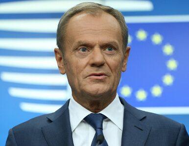 Donald Tusk: 27 państw UE zgodziło się na przedłużenie brexitu