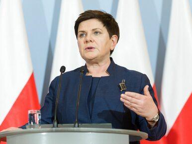 """Beata Szydło broni nagród dla ministrów. """"Otrzymywali je za ciężką i..."""