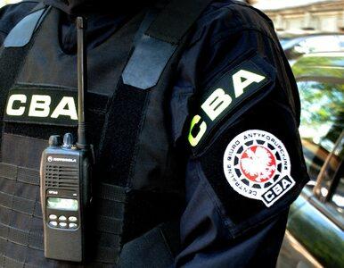 Agenci CBA przeprowadzają kontrolę w POSUM