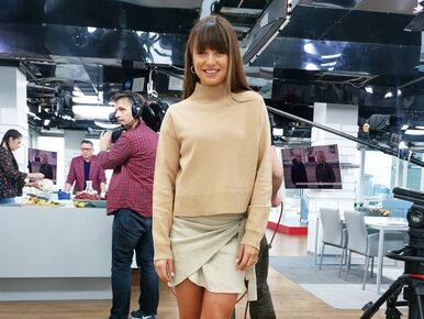 """Anna Lewandowska dołączyła do ekipy """"Dzień Dobry TVN"""". """"Nie mogę się..."""