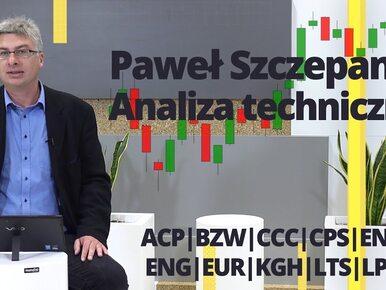 Paweł Szczepanik przedstawia: ACP, BZW, CCC, CPS, ENA, ENG, EUR, KGH,...