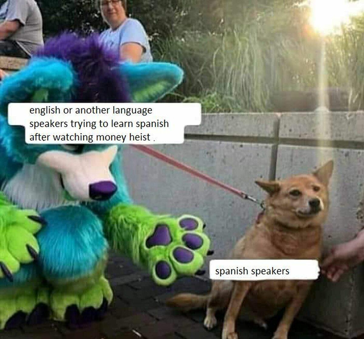 """Mem zainspirowany serialem """"Dom z papieru"""""""
