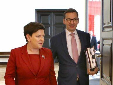 """Szydło o """"taśmie Morawieckiego"""": To ewidentnie próba zmiany władzy w Polsce"""