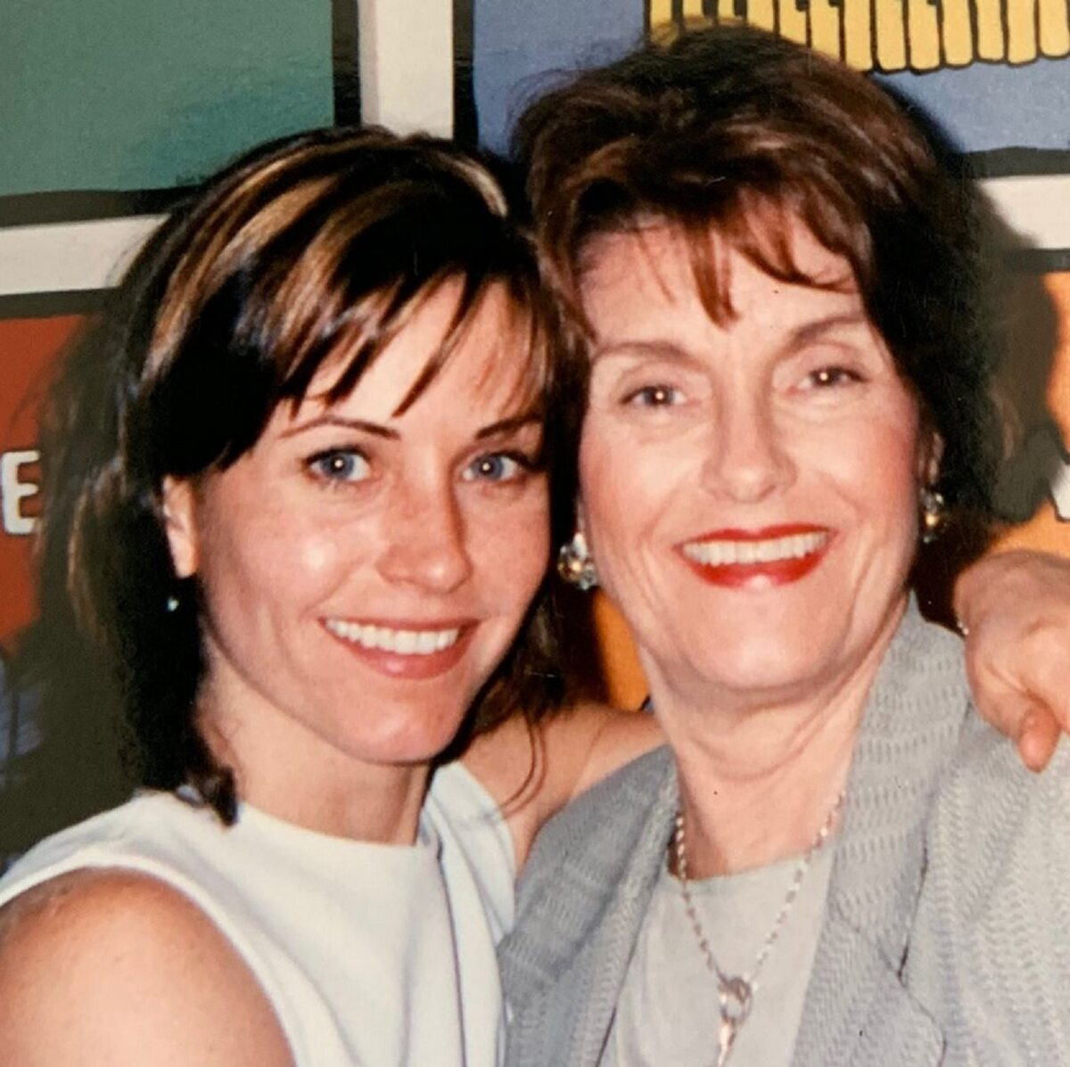 Courteney Cox z mamą