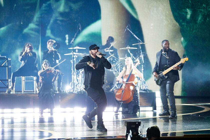 Występ Eminema na Oscarach 2020